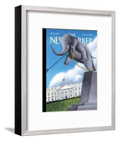 The New Yorker Cover - November 20, 2006-Mark Ulriksen-Framed Premium Giclee Print