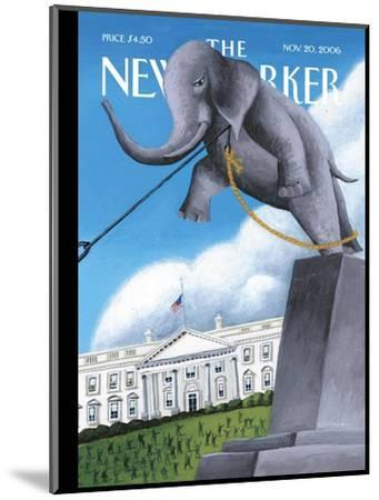 The New Yorker Cover - November 20, 2006-Mark Ulriksen-Mounted Premium Giclee Print