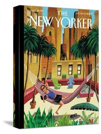The New Yorker Cover - July 6, 2009-Mark Ulriksen-Stretched Canvas Print