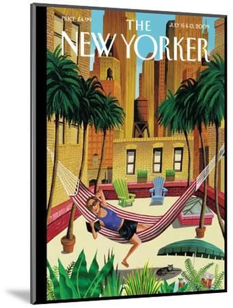 The New Yorker Cover - July 6, 2009-Mark Ulriksen-Mounted Premium Giclee Print