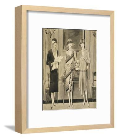 Vogue - June 1928-William Bolin-Framed Premium Giclee Print