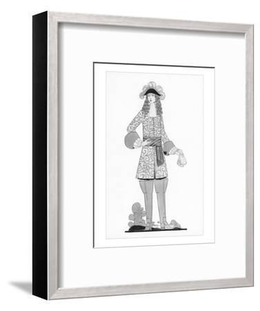 Vogue - March 1925-Claire Avery-Framed Premium Giclee Print