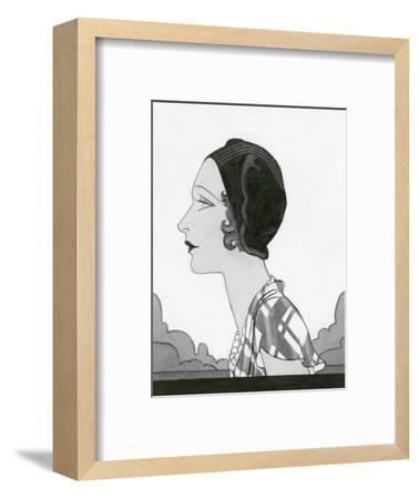 Vogue - March 1931-Douglas Pollard-Framed Premium Giclee Print