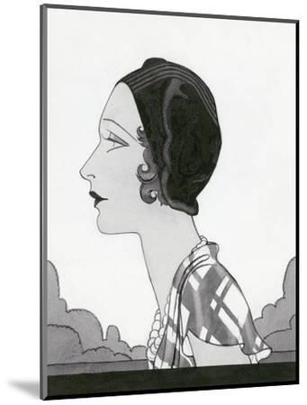 Vogue - March 1931-Douglas Pollard-Mounted Premium Giclee Print