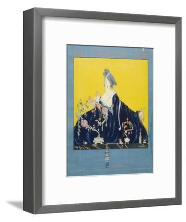 Vogue - November 1916-Robert Kalloch-Framed Premium Giclee Print