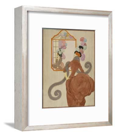 Vogue - December 1920-Helen Dryden-Framed Premium Giclee Print