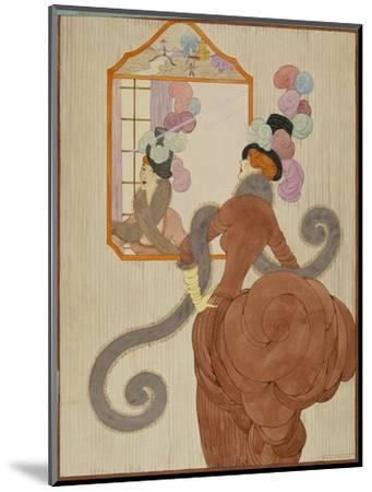 Vogue - December 1920-Helen Dryden-Mounted Premium Giclee Print
