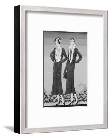 Vogue - April 1931-Douglas Pollard-Framed Premium Giclee Print