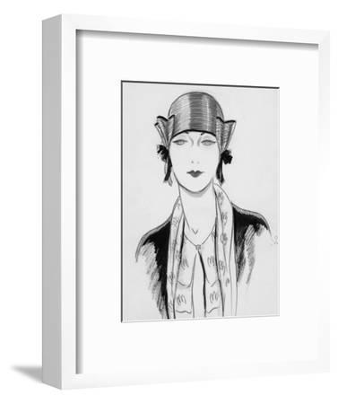 Vogue - March 1929-Porter Woodruff-Framed Premium Giclee Print