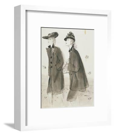 Vogue - September 1942-Ren? R. Bouch?-Framed Premium Giclee Print
