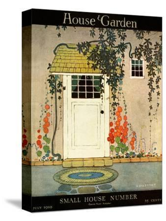 House & Garden Cover - July 1919-H. George Brandt-Stretched Canvas Print