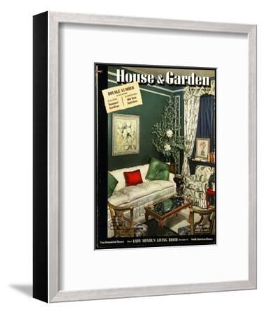 House & Garden Cover - May 1941-Urban Weis-Framed Premium Giclee Print