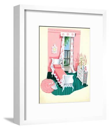 House & Garden - November 1944-Edna Eicke-Framed Premium Giclee Print
