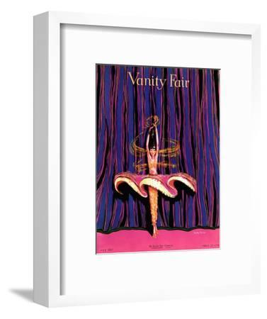 Vanity Fair Cover - July 1917-Dorothy Ferriss-Framed Premium Giclee Print