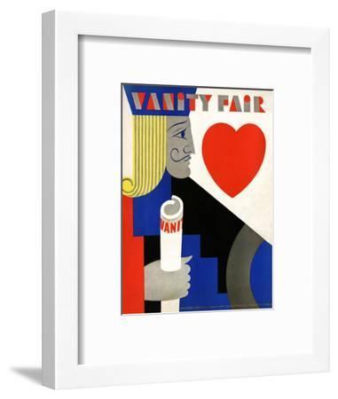 Vanity Fair Cover - November 1929-M. F. Agha-Framed Premium Giclee Print