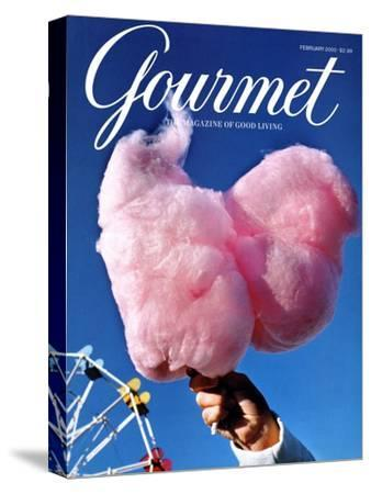 Gourmet Cover - February 2000-Kristine Larsen-Stretched Canvas Print