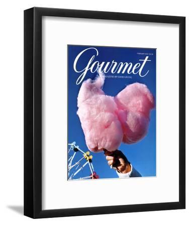 Gourmet Cover - February 2000-Kristine Larsen-Framed Premium Giclee Print