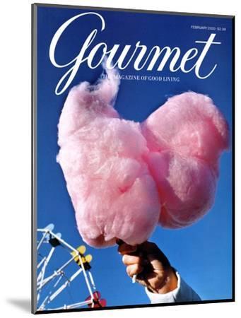 Gourmet Cover - February 2000-Kristine Larsen-Mounted Premium Giclee Print