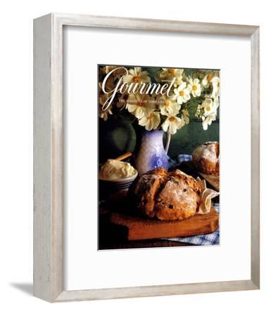 Gourmet Cover - March 1994-Romulo Yanes-Framed Premium Giclee Print