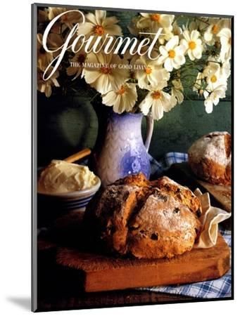 Gourmet Cover - March 1994-Romulo Yanes-Mounted Premium Giclee Print