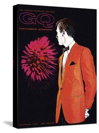 GQ Cover - November 1960-Leon Kuzmanoff-Stretched Canvas Print