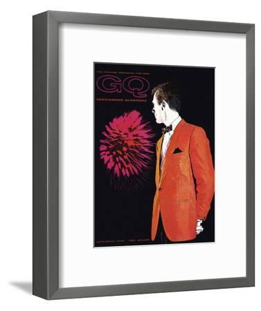 GQ Cover - November 1960-Leon Kuzmanoff-Framed Premium Giclee Print