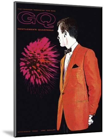 GQ Cover - November 1960-Leon Kuzmanoff-Mounted Premium Giclee Print