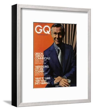 GQ Cover - November 1971-Bruce Bacon-Framed Premium Giclee Print