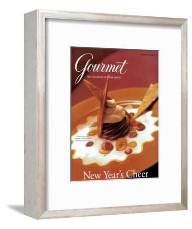 Gourmet Cover - January 1997-Romulo Yanes-Framed Premium Giclee Print