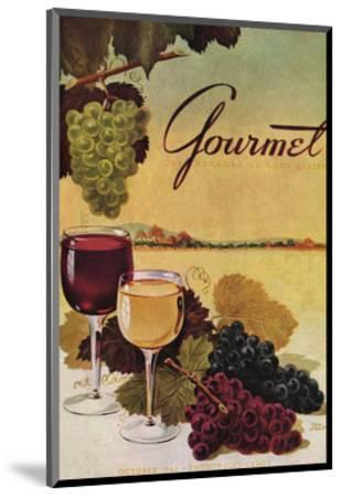Gourmet Cover - October 1942-Henry Stahlhut-Mounted Premium Giclee Print