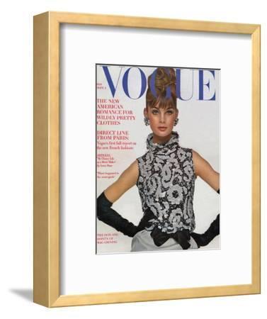 Vogue Cover - September 1963-Bert Stern-Framed Premium Giclee Print
