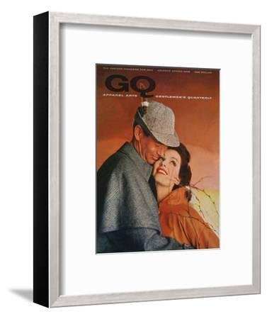 GQ Cover - January 1958-Emme Gene Hall-Framed Premium Giclee Print