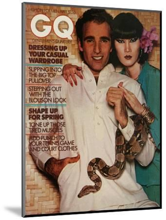 GQ Cover - April 1976-Albert Watson-Mounted Premium Giclee Print