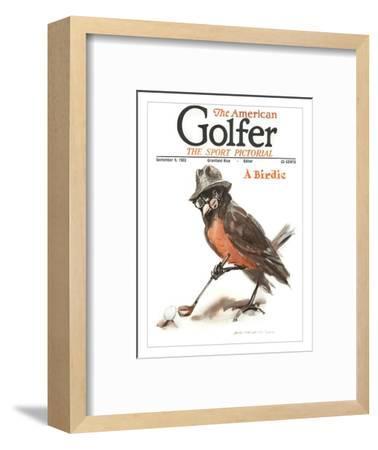 The American Golfer September 9, 1922-James Montgomery Flagg-Framed Premium Giclee Print