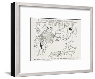 Gourmet - July, 1945-Corka-Framed Premium Giclee Print