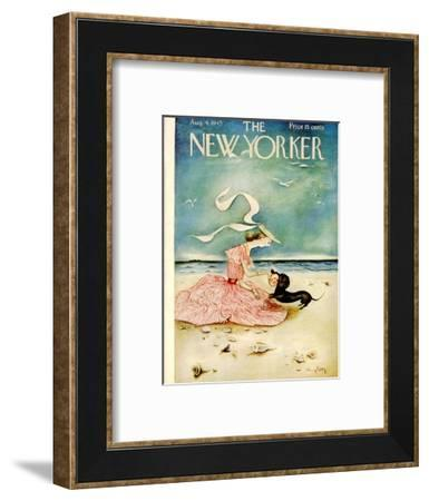 The New Yorker Cover - August 4, 1945-Mary Petty-Framed Premium Giclee Print