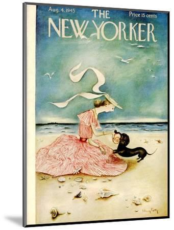 The New Yorker Cover - August 4, 1945-Mary Petty-Mounted Premium Giclee Print