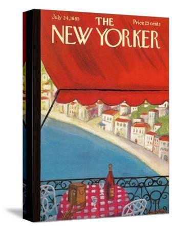 The New Yorker Cover - July 24, 1965-Beatrice Szanton-Stretched Canvas Print