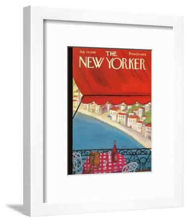 The New Yorker Cover - July 24, 1965-Beatrice Szanton-Framed Premium Giclee Print