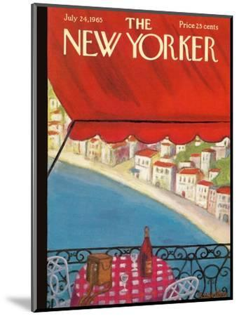The New Yorker Cover - July 24, 1965-Beatrice Szanton-Mounted Premium Giclee Print