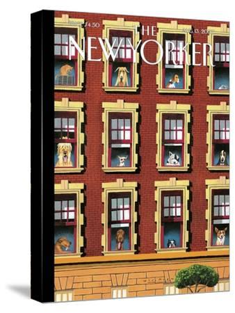 The New Yorker Cover - August 13, 2007-Mark Ulriksen-Stretched Canvas Print