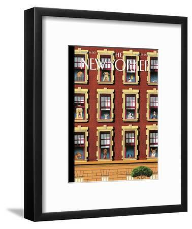 The New Yorker Cover - August 13, 2007-Mark Ulriksen-Framed Premium Giclee Print