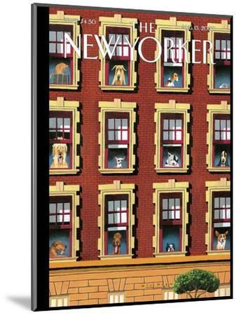 The New Yorker Cover - August 13, 2007-Mark Ulriksen-Mounted Premium Giclee Print