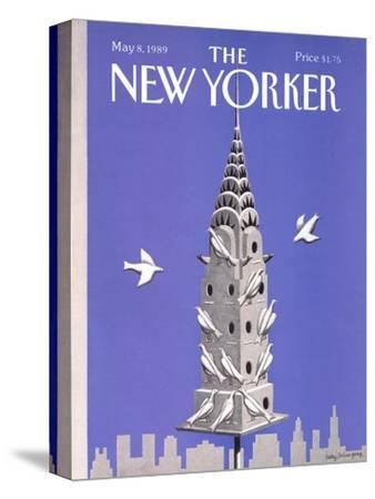 The New Yorker Cover - May 8, 1989-Kathy Osborn-Stretched Canvas Print