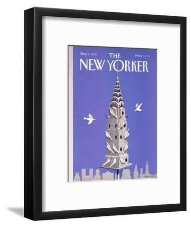 The New Yorker Cover - May 8, 1989-Kathy Osborn-Framed Premium Giclee Print