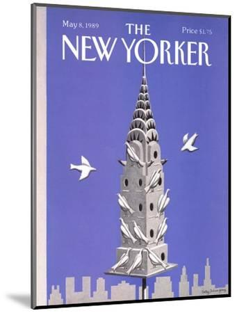The New Yorker Cover - May 8, 1989-Kathy Osborn-Mounted Premium Giclee Print