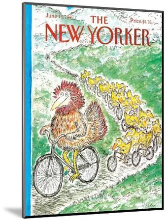 The New Yorker Cover - June 15, 1987-Edward Koren-Mounted Premium Giclee Print