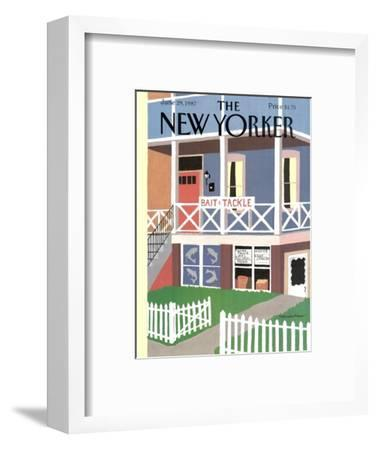 The New Yorker Cover - June 29, 1987-Marisabina Russo-Framed Premium Giclee Print