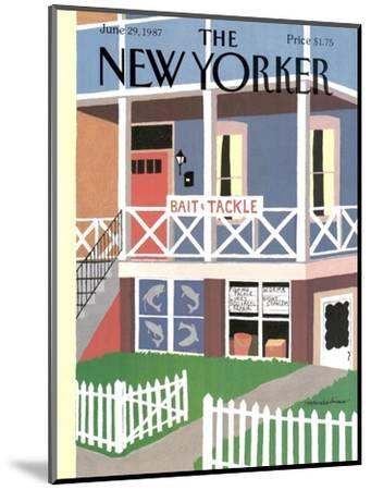 The New Yorker Cover - June 29, 1987-Marisabina Russo-Mounted Premium Giclee Print