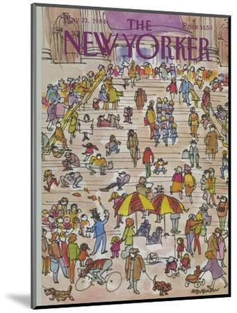 The New Yorker Cover - May 21, 1984-James Stevenson-Mounted Premium Giclee Print
